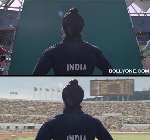 Những cảnh phim Ấn Độ ảo diệu đến khó tin trước và sau khi dùng kỹ xảo - 1
