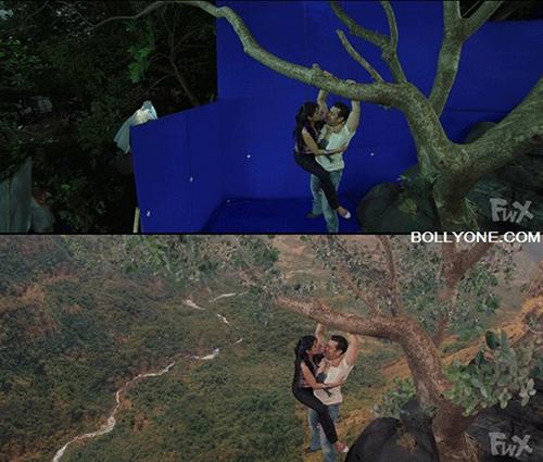 Những cảnh phim Ấn Độ ảo diệu đến khó tin trước và sau khi dùng kỹ xảo - 8