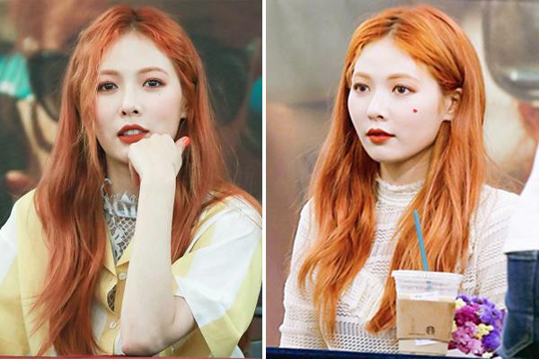 Dàn idol không phải nắng vẫn chói chang nhờ màu tóc cam rực