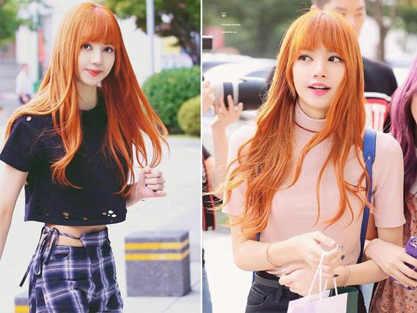 Dàn idol không phải nắng vẫn chói chang nhờ màu tóc cam rực - 6