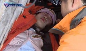 Nữ thần tượng ngã gục và bật khóc vì nhịn đói suốt 70 giờ đồng hồ