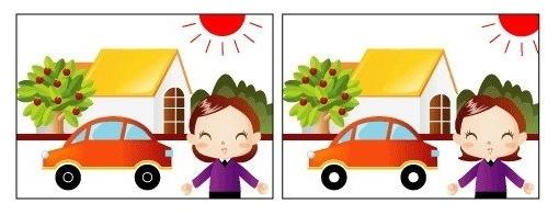 Trắc nghiệm: Bạn nhìn thấy điểm khác biệt gì trong hai bức hình sau?