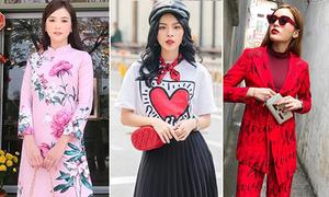 Street style đã mắt tuần nghỉ Tết của sao, hot girl Việt