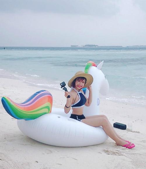 Ảnh bikini hiếm hoi của những mỹ nhân Việt dáng đẹp nhưng ít khoe - 4