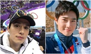 Dàn sao Hàn cổ vũ hết mình trên sàn đấu Olympic