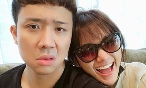 Trấn Thành đáp trả gay gắt vì bị so sánh với bạn trai cũ Hari Won