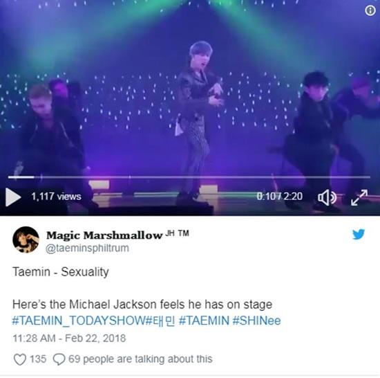 Tae Min (SHINee) được ví như Michael Jackson châu Á trên đài NBC - 2