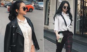 Linh Ka ngày càng mê phong cách 'công sở' già dặn ở tuổi 16