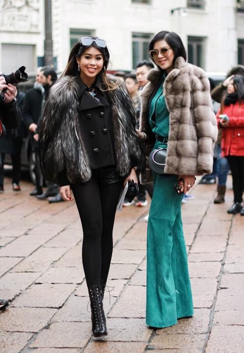 Thảo Tiên sành điệu xứng tầm rich kids tại Milan Fashion Week - 2