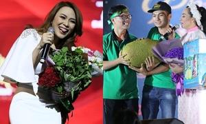Fan Việt tặng rau muống, sữa, bánh tráng cho thần tượng