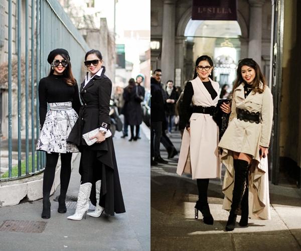 Thảo Tiên sành điệu xứng tầm rich kids tại Milan Fashion Week - 4