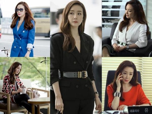 Style sang chảnh như con nhà giàu trong dram Hàn