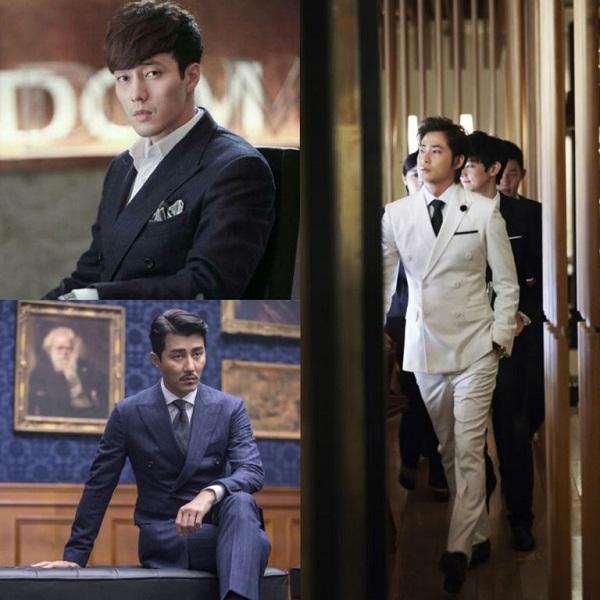 Style sang chảnh như con nhà giàu trong dram Hàn - 1