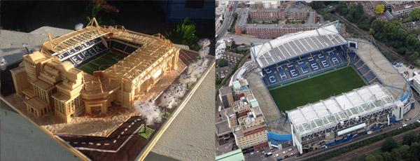 SVĐ Stamford Bridge của Chelsea.