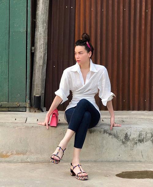 Những kiểu mốt được sao Việt lăng xê trong street style tuần qua - 6