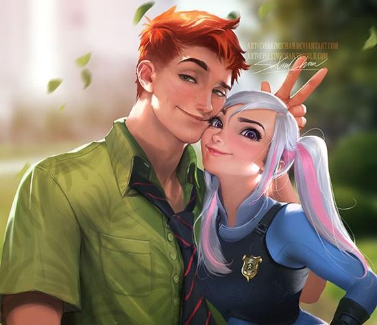 Nick và Judy.