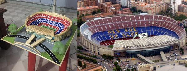 SVĐ Nou Camp của Barcelona.