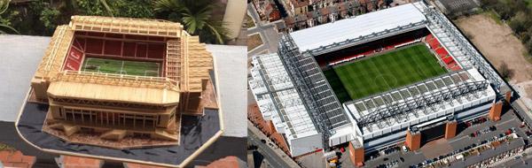 SVĐ Anfield của Liverpool.