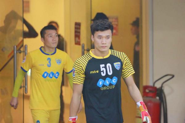Bùi Tiến Dũng xin lỗi sau trận thua của tuyển Thanh Hóa.