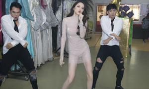 Khán giả Thái thích thú trước phần thi tài năng của Hương Giang tại Hoa hậu Chuyển giới