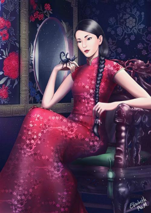 Bộ tranh Quý cô thời hiện đại: Bảo Bình nhập quốc tịch Ấn Độ, Bò Cạp làm cô gái Trung Hoa - 7