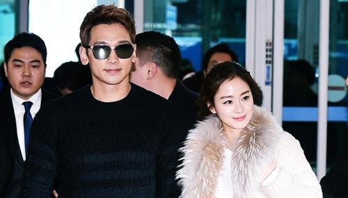 Kim Tae Hee hiện tại đã kết hôn và sống rất hạnh phúc cùng ông xã Bi (Rain).