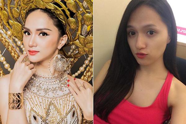 Nhan sắc khi rũ phấn son của Hương Giang và các thí sinh Hoa hậu chuyển giới