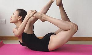 Sao Việt khoe dáng 'không mỡ thừa' với những tư thế yoga như làm xiếc