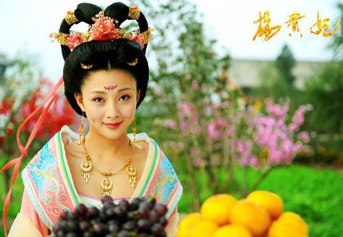 Dương Quý Phi Ân Đào.