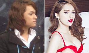 Hành trình thay đổi nhan sắc của Hương Giang idol