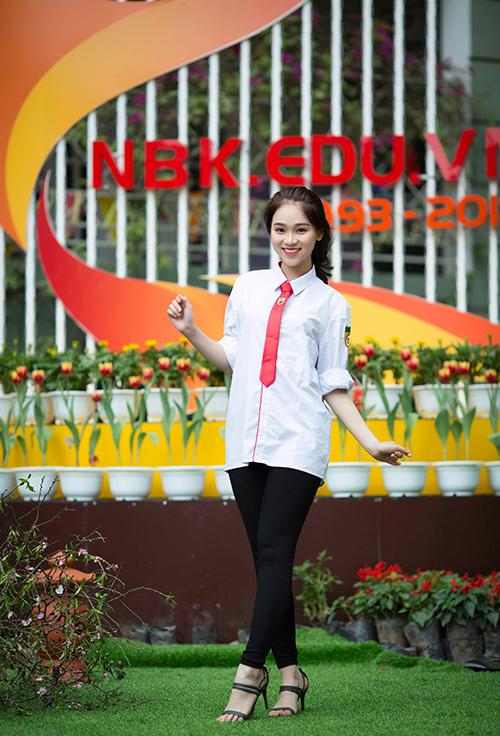 Hot boy, hot girl trường Nguyễn Bỉnh Khiêm so kè độ hot - 9