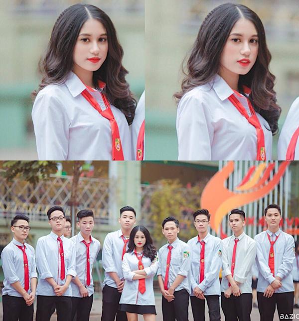 Hot boy, hot girl trường Nguyễn Bỉnh Khiêm so kè độ hot - 6