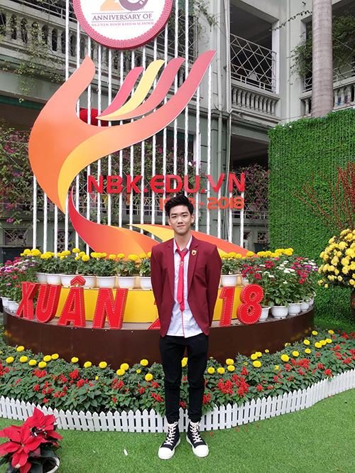 Hot boy, hot girl trường Nguyễn Bỉnh Khiêm so kè độ hot - 2