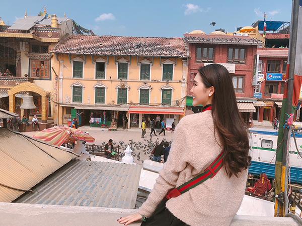 Tường Linh du lịch Nepal cùng cô bạn thân tại Hoa hậu Liên lục địa - 6
