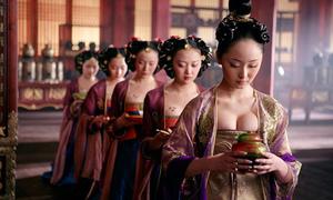 Hàng ngàn cung nữ 'lả lơi' gây tranh cãi nhất màn ảnh Trung Quốc