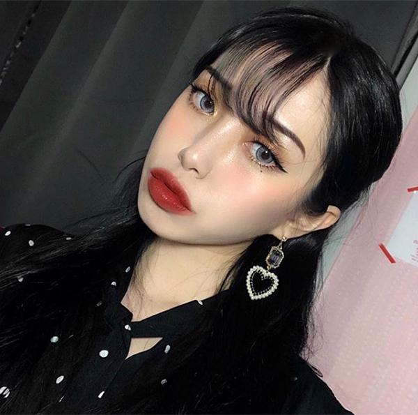 Các hot girl Hàn ngày càng kém xinh vì mê thẩm mỹ, trang điểm đáng sợ - 3