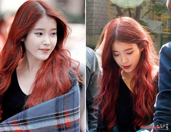 Dàn idol đẹp hút hồn như nàng tiên cá nhờ màu tóc đỏ rực - 3