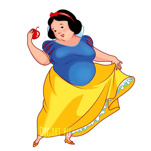 Công chúa Disney phiên bản sắc đẹp ngàn cân - 2