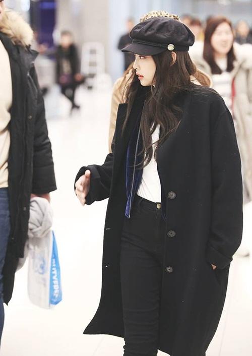 Dàn sao Hàn đồng loạt khoe style năng động tại sân bay - 5