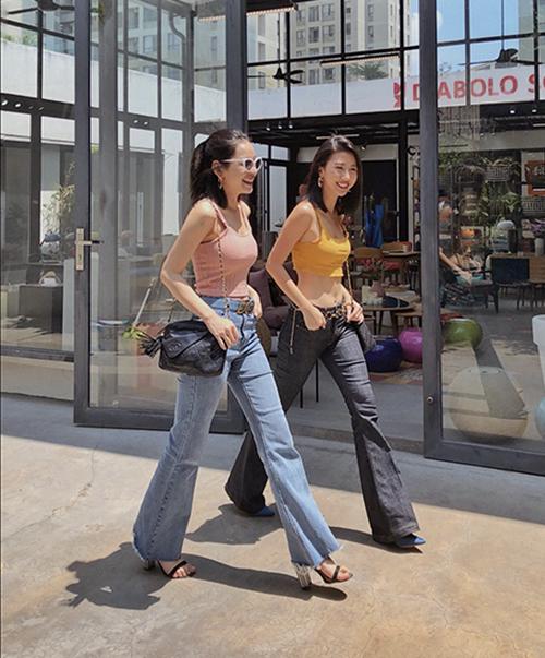 Quỳnh Anh Shyn mặc đẹp quanh năm chỉ nhờ một lố áo hai dây đủ màu - 4