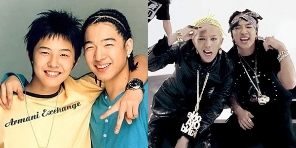 Đôi bạn tri kỷ G-Dragon và Tae Yang.