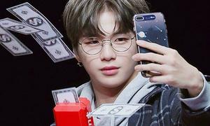 Đủ kiểu phản ứng hài hước của idol Hàn khi chơi 'súng bắn tiền'