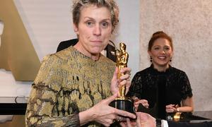 Nữ chính xuất sắc nhất Oscar 2018 bị đánh cắp tượng vàng