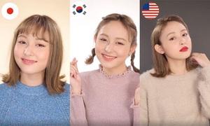 3 cách tô son của gái Hàn, Nhật, Mỹ: Bạn thích kiểu nào?