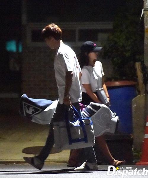 Phủ nhận chuyện hẹn hò lần 2, Park Shin Hye và Choi Tae Joon bị Dispatch tung ảnh hẹn hò - 2