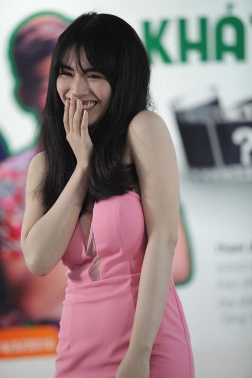 Linh Miu cũng có mặt trong buổi thử vai.