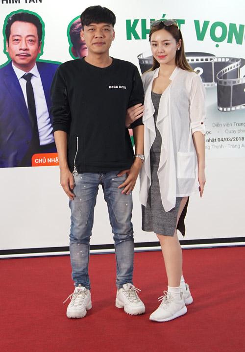 2 diễn viên trẻ Trung Ruồi và Quỳnh Kool.