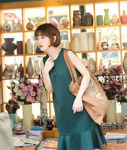 3 kiểu tóc mùa hè giúp hot girl Việt xinh như gái Hàn - 3