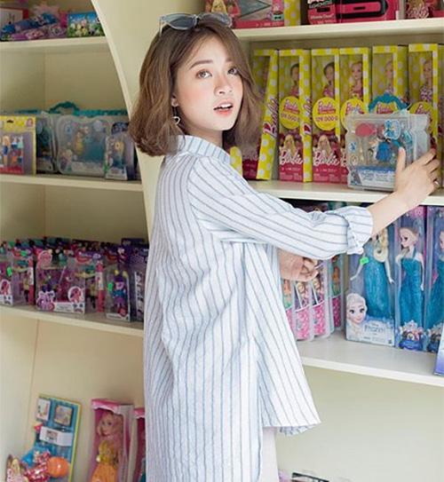 3 kiểu tóc mùa hè giúp hot girl Việt xinh như gái Hàn - 4