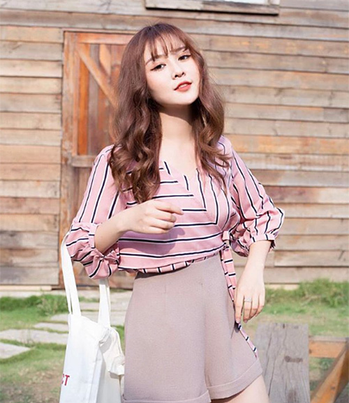 3 kiểu tóc mùa hè giúp hot girl Việt xinh như gái Hàn - 8